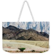 Color Layers In The Desert Weekender Tote Bag by Arik Baltinester