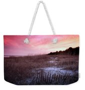 Color Over The Dunes Weekender Tote Bag