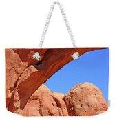 Colorado Arches, Close Up Blue Sky 3440 Weekender Tote Bag
