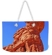 Colorado Arches Spire Scrub Dinosaur Rock? Scrub Blue Sky 3325 Weekender Tote Bag