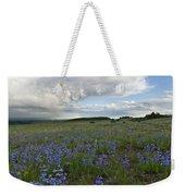 Colorado Evening Wildflower And Cloud Landscape Weekender Tote Bag