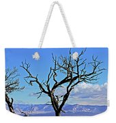 Colorado National Monument Colorado Blue Sky Red Rocks Clouds Trees 2 10212018 2842.jpg Weekender Tote Bag