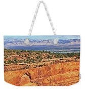 Colorado National Monument Trees Rock Formations 3087 Weekender Tote Bag