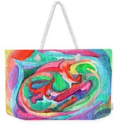 Colorful Abstraction Weekender Tote Bag