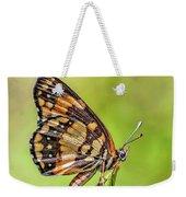 Colorful Butterfly Weekender Tote Bag