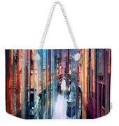 Colorful Canal Weekender Tote Bag