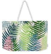 Colorful Palm Leaves 2- Art By Linda Woods Weekender Tote Bag
