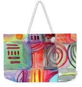 Colorful Patchwork 1- Art By Linda Woods Weekender Tote Bag
