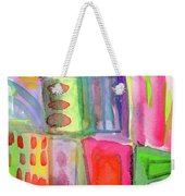 Colorful Patchwork 2- Art By Linda Woods Weekender Tote Bag