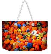 Colorful Tiny Pumpkins Weekender Tote Bag