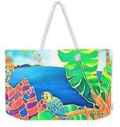 Colorful Tropics 16 Weekender Tote Bag