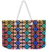 Coloured Glass Window Weekender Tote Bag