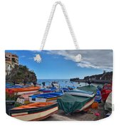 Colourful Boats Weekender Tote Bag