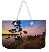 Columbia River Sunrise Weekender Tote Bag