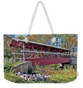 Colvin Covered Bridge Weekender Tote Bag