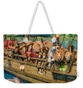 Come Aboard There's Plenty Of Room Ark Weekender Tote Bag