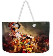 Comfortably Numb Weekender Tote Bag