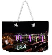 Coming And Going In The Heart Of L A At Night-time Weekender Tote Bag