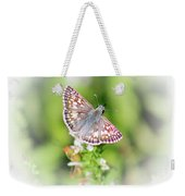 Common Checkered Skipper Butterfly  Weekender Tote Bag