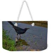 Common Grackle Weekender Tote Bag