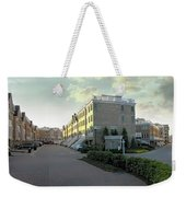 Concrete Canyon Pano Weekender Tote Bag