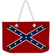 Confederate Stars And Bars T-shirt Weekender Tote Bag