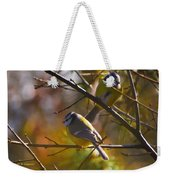 Contemplating    Weekender Tote Bag
