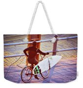 Contemplating The Surf Weekender Tote Bag
