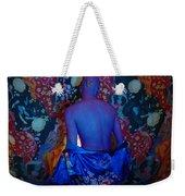 Contemporary Deva Weekender Tote Bag