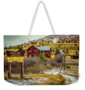 Continental Divide Weekender Tote Bag