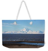 Cook Inlet And The Alaska Range From Ninilchik Weekender Tote Bag
