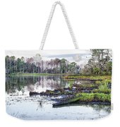 Coosaw - Early Morning Rice Field Weekender Tote Bag