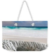 Coral By The Sea Weekender Tote Bag
