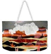 Coral Desert Lake Weekender Tote Bag