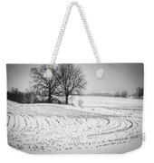 Corn Snow Weekender Tote Bag by Kendall McKernon