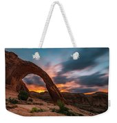 Corona Arch At Sunrise Weekender Tote Bag