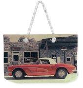 Corvette Cafe - C1 - Vintage Film Weekender Tote Bag