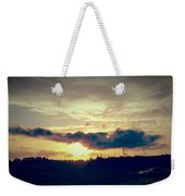 Country Sunset In Pavo Weekender Tote Bag