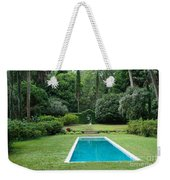 Courtyard Entrance Weekender Tote Bag