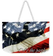 Cowboy Patriot Weekender Tote Bag