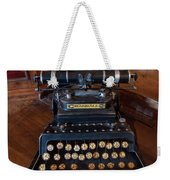 Crandall No3 Typewriter Weekender Tote Bag