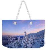 Crawford Notch Winter View. Weekender Tote Bag by Jeff Sinon