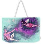 Creation Of Woman Weekender Tote Bag