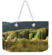 Crested Butte Colorado Fall Colors Panorama - 1 Weekender Tote Bag