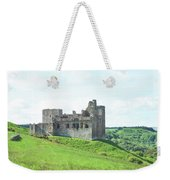Crighton Castle In Summer Weekender Tote Bag