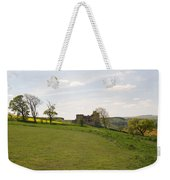 Crighton Castle Ruins And Hills, Midlothian Weekender Tote Bag