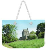 Crighton Church And Track Weekender Tote Bag