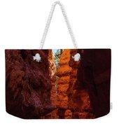 Crimson Crevice Weekender Tote Bag