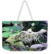 Crocodile Profile. Weekender Tote Bag