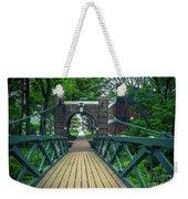 Crossing The Kissing Bridge Weekender Tote Bag
